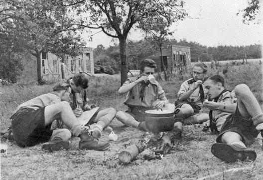 kampeer-trektocht1955