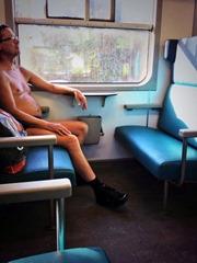 naakt-in-de-trein