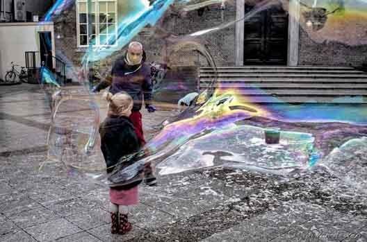 zeepbellen